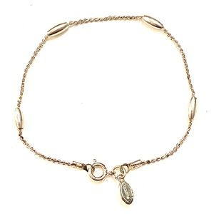 AVON Dainty Silver bracelet vintage